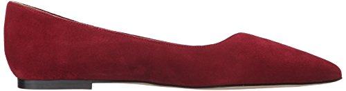 Sam Edelman Mujer Ruby Pointed Toe plana Rojo Tango