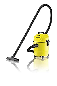 Karcher WD 1 Canister Vacuum Cleaner, Yellow