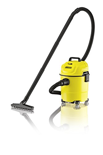 Karcher WD 1 1000-Watt Wet and Dry Vacuum Cleaner (Yellow/Black)