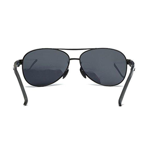 Piernas Aviación Ambiente sol para Moda Antideslumbrante sol de polarizadas Gafas de de sol co conducir Aluminio espejo magnesio de Gafas de deportivas ligero para hombre Gafas y de A hombre Gafas Gafas q55RBp