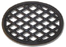 John Wright 33347 Black Matte Lattice Trivet ()
