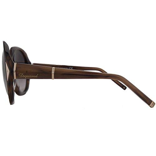Amazon.com: Dsquared2 Gafas de sol Para Mujer DQ0111 – 45T ...