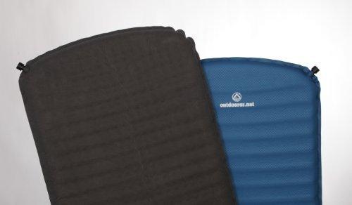 Outdoorer Trek Bed 1 - selbstaufblasbare Isomatte, sehr leicht, Packmaß klein