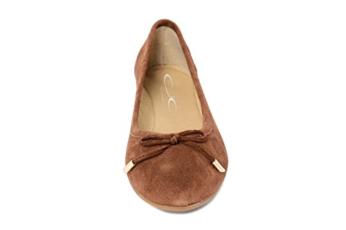 EJE Donna -Ballerina in Pelle - 1120200_Calf_Mousse_Nut