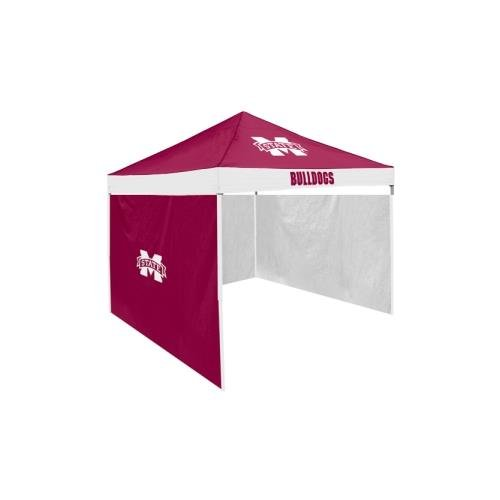 Logo Chair Mississippi State Bulldogs Ncaa 9u0027 X 9u0027 Economy 2 Logo Pop-  sc 1 st  Tailgate Canopy Popup Tents with NCAA and NFL Team Logos & MISSISSIPPI STATE BULLDOGS Tailgate Canopy Popup Tent |