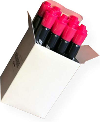 Expo 2012976 Neon Dry Erase Bullet Point Markers; Pack of 12 Markers; For Use On Windows, Mirrors, and Black or White Dry Erase Boards; Pink by Expo (Image #1)