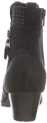 Softline 25360 Damen Kurzschaft Stiefel Schwarz (schwarz (BLACK 001 ))