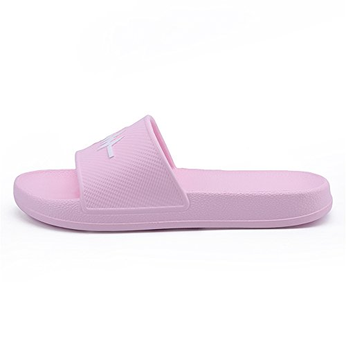 Color Sunny and Size amp;Baby Slipper Durable Indoor Women 7 Pink Purple Men's 5MUS PVC Sandals Beach vvTwprERWq