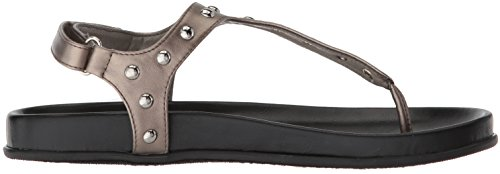 Sandalen aus flüchtiger Sehr Zinn Frauenflat w8pwtEvq