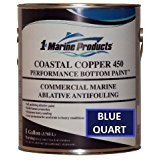 (Coastal Copper 450 Ablative Multi-Season Antifouling Bottom Paint BLUE QUART)