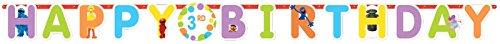 Amscan Sesame Street Jumbo Birthday Add a Number Banner, (Sesame Street Birthday Banner)