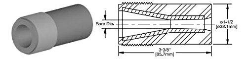 Kennametal 2082173 tungsten carbide short venturi nozzle, 7/16'' Bore Dia, T121-AP Series by Kennametal