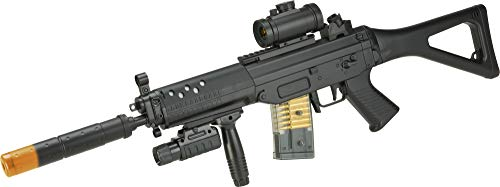 Evike DE M82 Entry Level Full Size 552 Airsoft LPAEG Electric Rifle Package