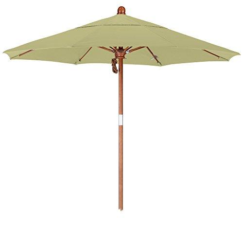 31orvCtB0lL - California Umbrella 7.5' Round Hardwood Pole/Fiberglass Rib/Stainless Steel Pulley Lift