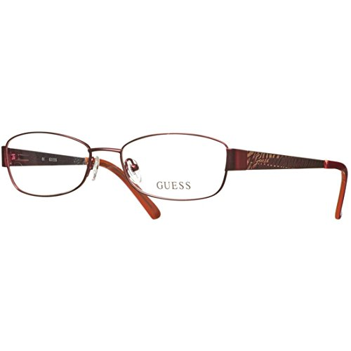 Guess Lunettes Cadre Frame, Montures Optiques GU 2404 BUR 53   GU2404 F61 53