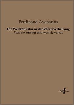 Book Die Weltkarikatur in Der Volkerverhetzung