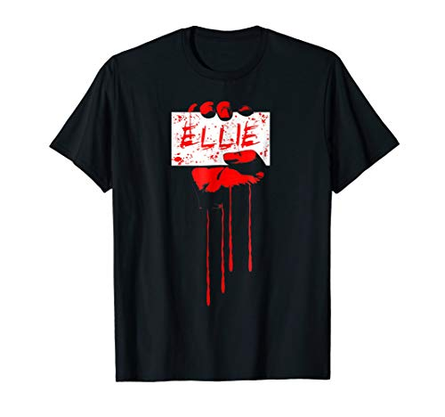 ELLIOT Halloween Horror - Bloody Zombie Red Hand T-Shirt -