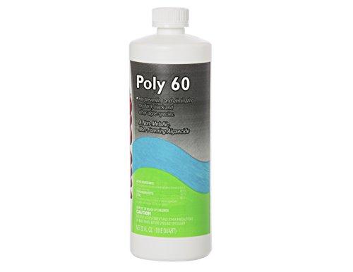 Nu-Clo Quart Black Algaecide Poly 60 for Swimming Pools Non-Metallic & Non-Foaming - 29,090 Gallons Per Bottle 2015