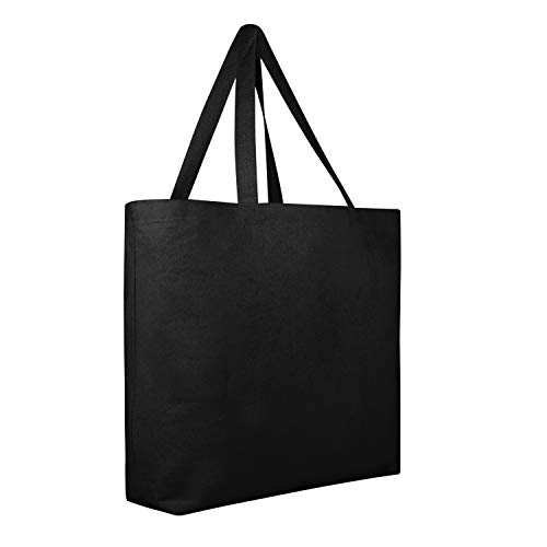 12 PACK Large Heavy Canvas Beach Tote Bag Boat Bag - Canvas
