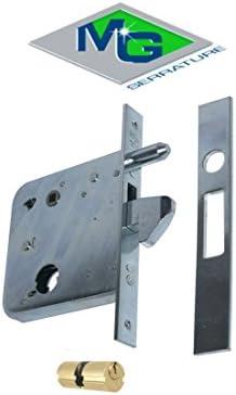 Cerradura de ponerse MG Art. 574810 para puertas correderas entrada ...