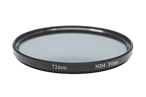 Gadget Career 72mm Neutral Density ND4 Filter for Sony FE 24-240mm F3.5-6.3 OSS by Gadget Career