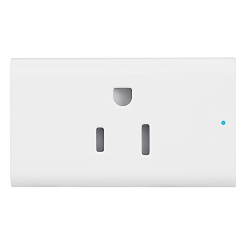 Tecart TS101-R Smart Plug, Wi-Fi Enabled Remote Control Switch ON/OFF Electric Devices From Anywhere, Voice Control Supported, Works with Amazon Alexa and Google Assistant