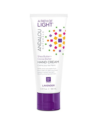Andalou Naturals Lavender Hand Cream, 3.4 Ounce (Best Natural Hand Cream)
