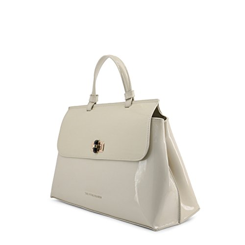 Designer Women White Genuine Handbag Trussardi BRUPq