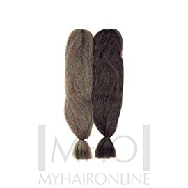 Sensationnel Braid Now 100% Kanekalon Fiber #1 Jet Black