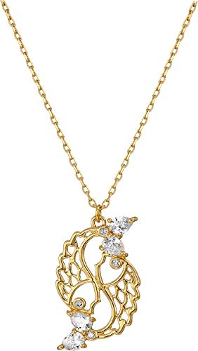 Kate Spade New York Women's Celestial Charm Pisces Pendant Necklace Clear/Gold One Size ()