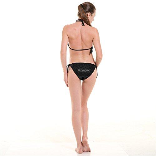 De Ecaille Avec Noir Bikini Ajustable Swimwear Acvip Design Poisson Couleurs Femme 11 wxqZY6YX0