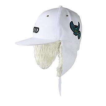 Mens Boys Urban Retro Vintage Snapback Flat Peak Baseball Cap Snap Back  Peak Hat Fur Lined 6230d5fb96b8