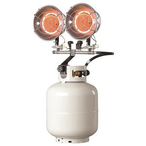 Mr. Heater MH30T Double Tank Top Outdoor Propane Heater (Propane Cylinder not Included) by Mr. Heater
