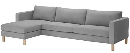 sofa-cover-only-dense-cotton-karlstad-three-seat-sofa-and-chaise-lounge-cover-replacement-ikea-karls