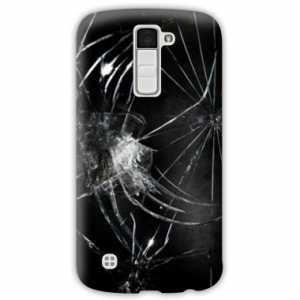 Amazon.com: Case Carcasa LG K10 Trompe oeil - - brisure N ...