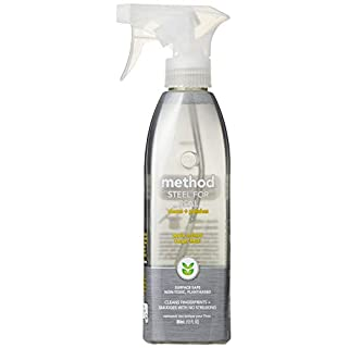 Method Home Care Products 12 Oz Stainless Steel Cleaner & Polisher 00084 (Pack of 1)