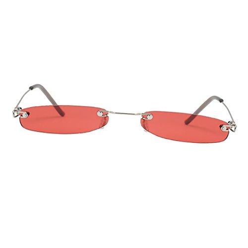 P Plastique Uv Soleil Lentille Femme Rouge Accessoire Homme Prettyia Lunettes De Protection Unisexe rfwrSBq