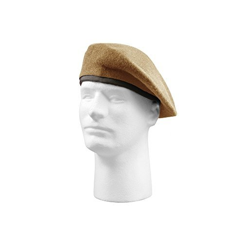 Rothco Gi Type Inspection Ready Beret, Tan, 7