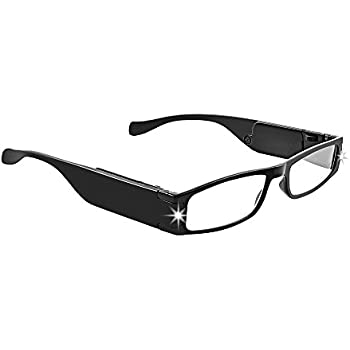 2cceacb5b102 LIGHTSPECS LightWeight Ultra Bright LED Rectangular Reading Glasses