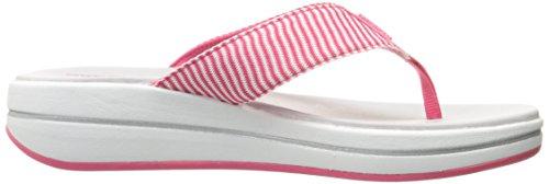 Skechers H2 Relajado Caben Mejoras Sailin Sandalias Rosa Rosa