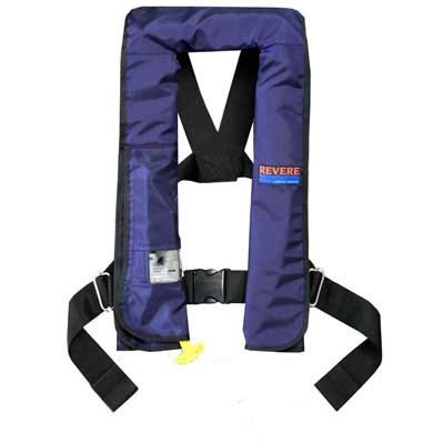 - REVERE COMFORT MAX INFLATABLE PFD - NAVY BLUE