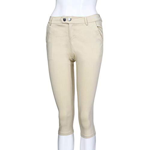 sólido Beige Vaqueros Cordón Ocio Impreso Pantalón Grande Boho Cintura Mujer de botón de Pantalones Fitness Talla ASHOP de Jeans de Pantalones Estilo Cremallera Leggings gAqwCX4gx