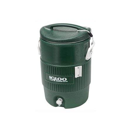 Igloo 5-Gallon Cooler, Green
