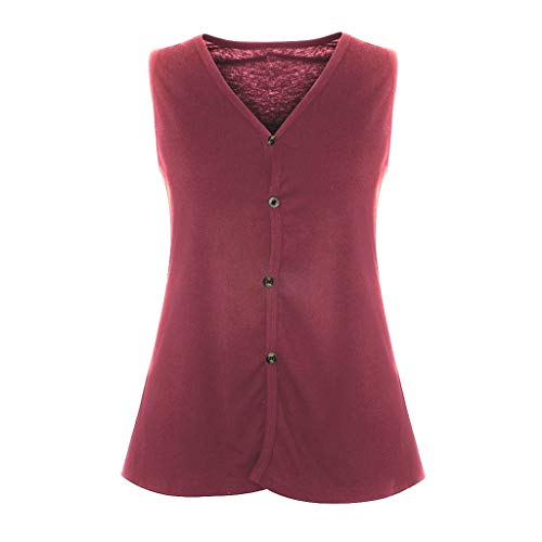 De En Con Casual Esailq Camiseta V Larga Vestido Blusa Rosa Camisa Caliente 2019 Tops Primavera Imprimir Manga Para Mujer Cuello Cadenas q6faEw6