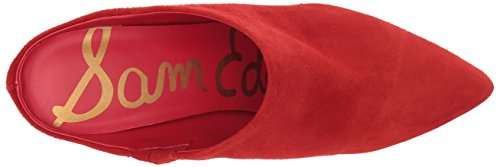 Oran Mule Women's Sam Red Candy Edelman Suede zAwnqg5