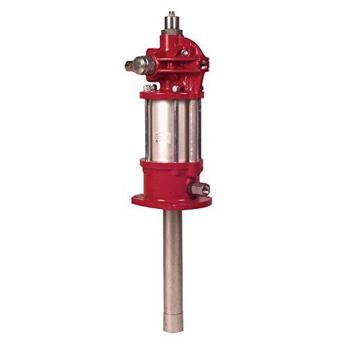 Alemite 7783-C4 Stationary Pneumatic Industrial Oil Pump, 1/2