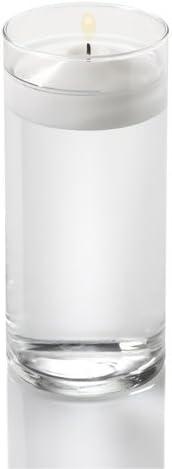 Lotto di 12 Vasi cilindrici Clair 15 cm