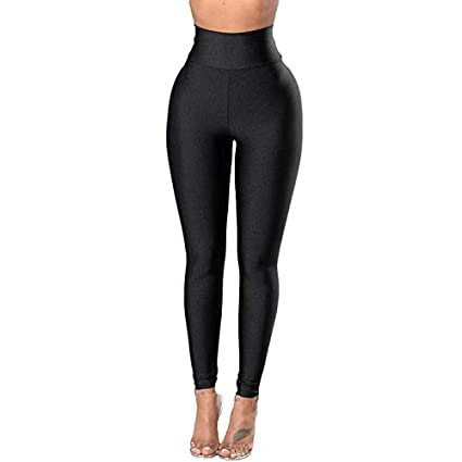 24e59a72a115 Image Unavailable. Image not available for. Color: Gold Happy Autumn Sexy High  Waist Women Black Legging ...
