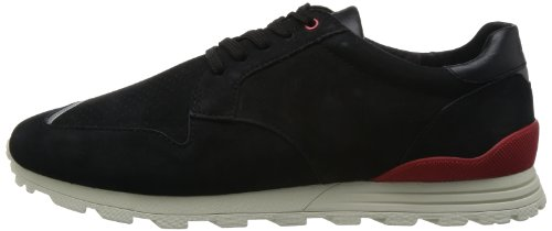 Clae Mens Nathan Black Nubuck 8 Boots Sneakers CLA01283