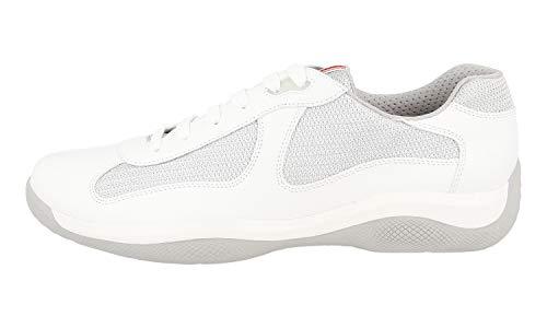 Argento Herren Weiß Bianco Prada Sneaker 4IqTwdd